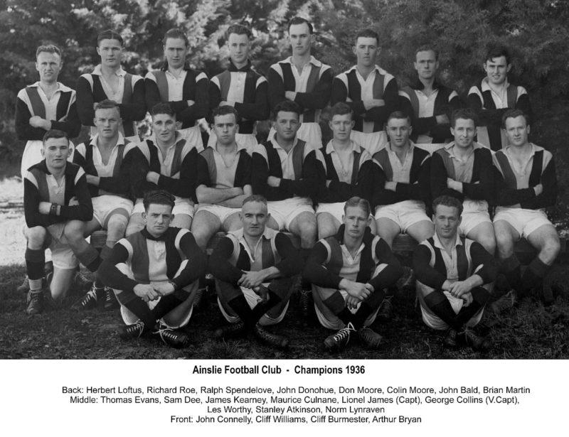 1936 - Ainslie First Grade Champions
