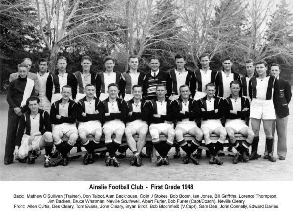 1948- Ainslie First Grade Team
