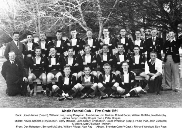 1951-Ainslie First Grade Team