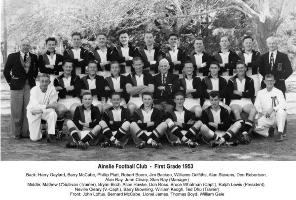 1953-Ainslie Second Grade Team