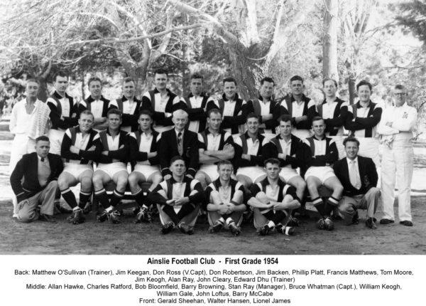 1954-Ainslie First Grade Team