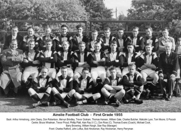 1955-Ainslie First Grade Team