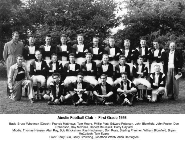 1956-Ainslie First Grade Team