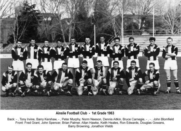 1963-Ainslie First Grade Team