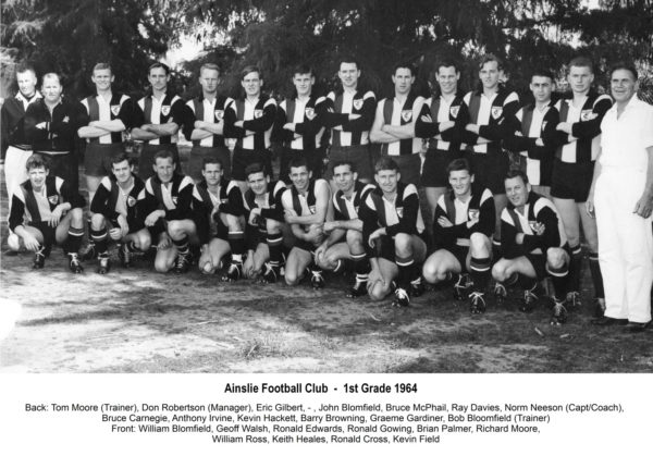 1964-Ainslie First Grade Team