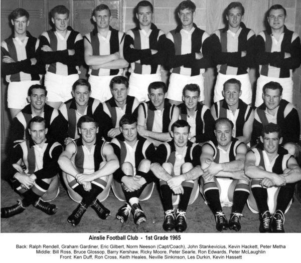 1965-Ainslie First Grade Team