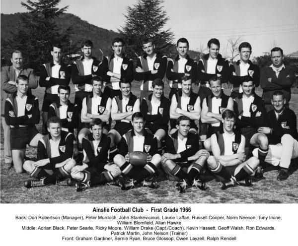 1966-Ainslie First Grade Team