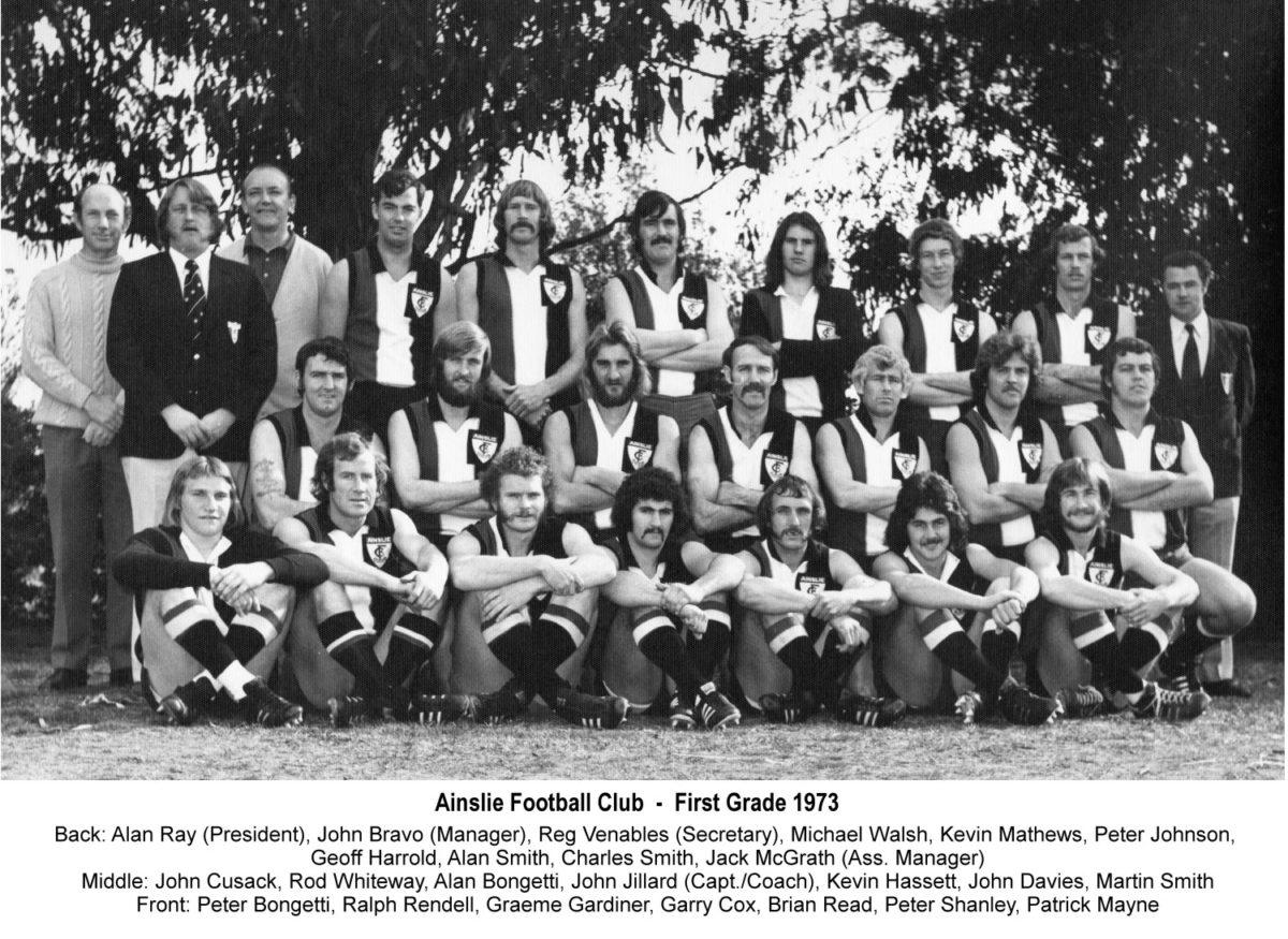 1973-Ainslie First Grade Team