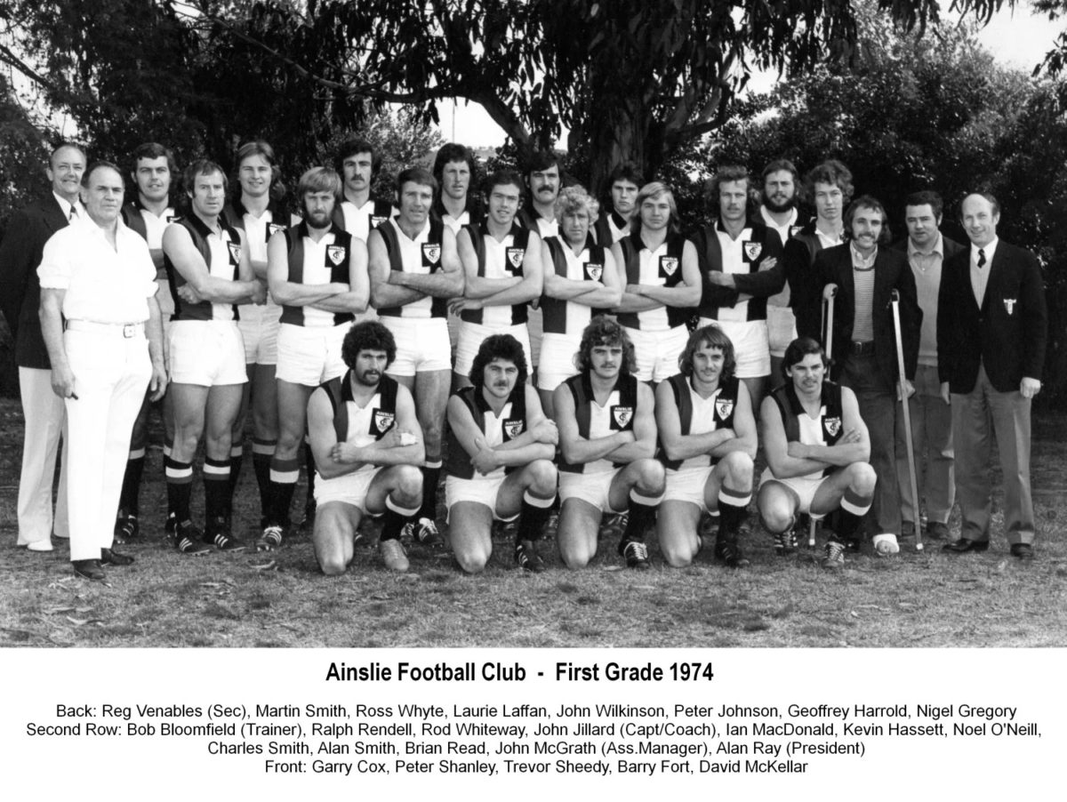 1974-Ainslie First Grade Team