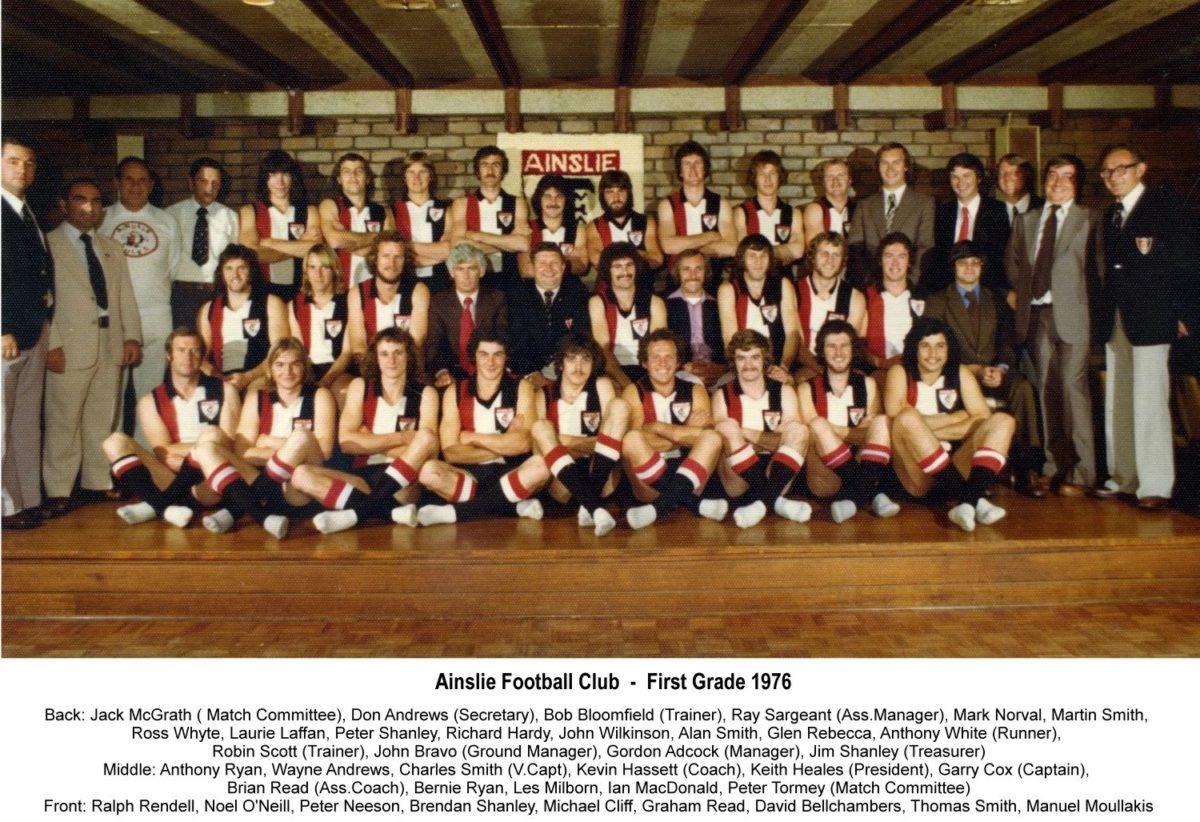 1976-Ainslie First Grade Team