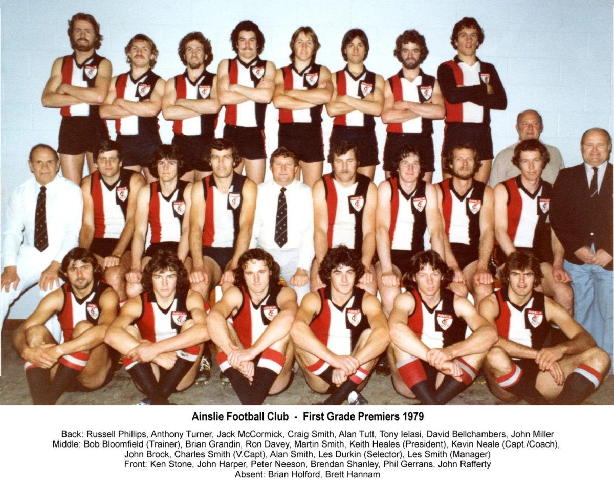 1979-Ainslie First Grade Premiership Team