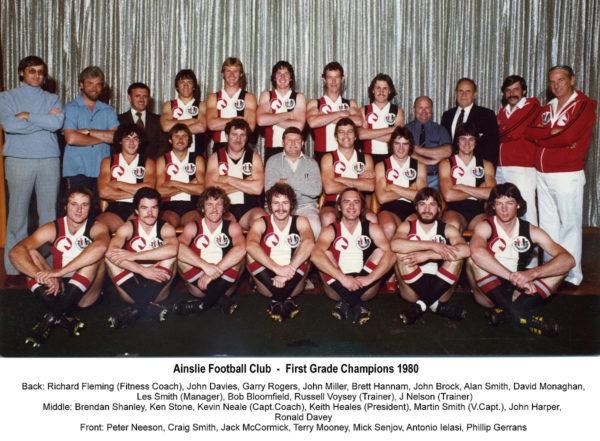1980-Ainslie First Grade Championship Team