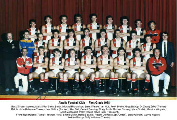 1988-Ainslie First Grade Team