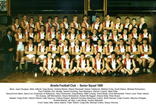 1989-Ainslie Senior Squad