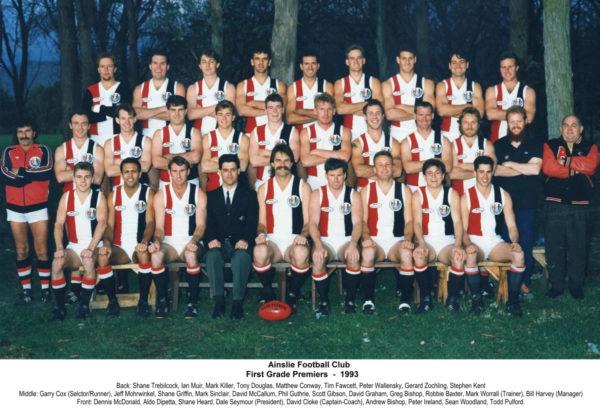 1993-Ainslie First Grade Premiership Team