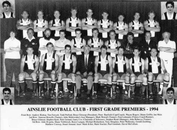 1994-Ainslie First Grade Premiership Team