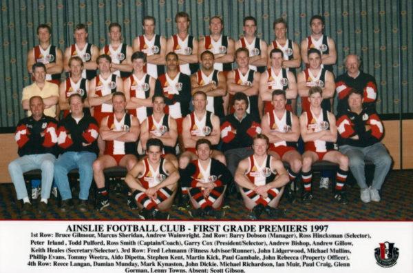 1997-Ainslie First Grade Premiership Team