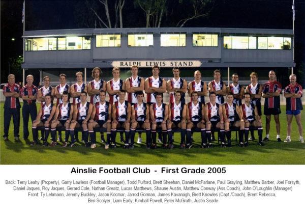 2005-Ainslie First Grade