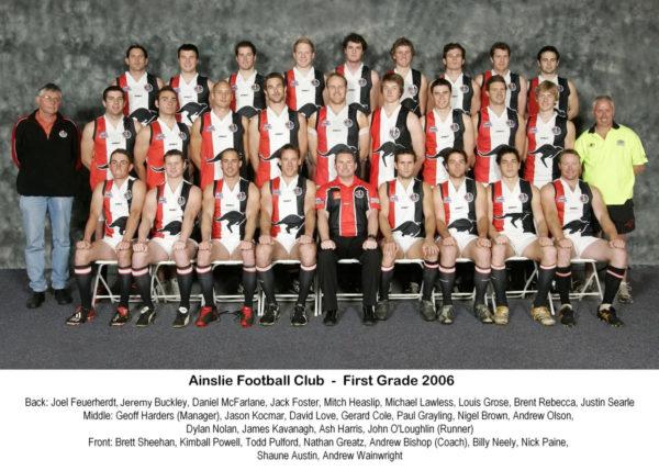 2006-Ainslie First Grade Team