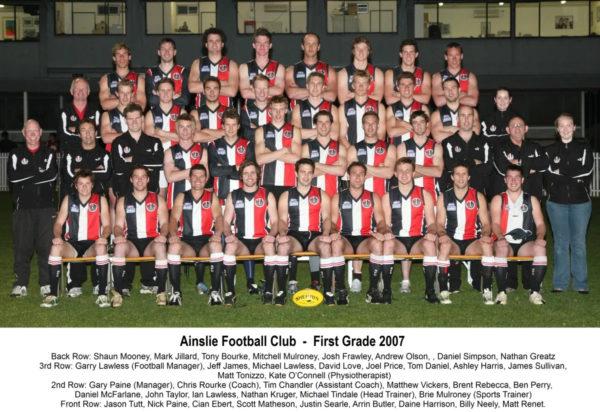 2007-Ainslie Senior Squad