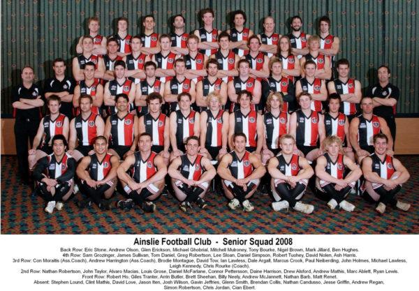 2008-Ainslie Senior Squad