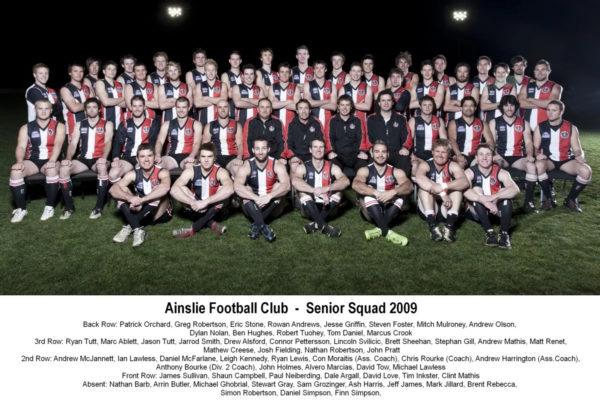 2009-Ainslie Senior Squad